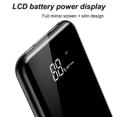 Baseus Ultra Slim LED Display Wireless Charging  8000mAh Dual OutPut Power Bank