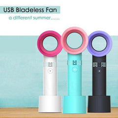 Zero 9 Bladeless 2000mAh Portable Handheld Fan (A Korean Innovation)