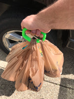 Grocery bag holder 3D print