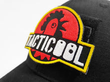 Load image into Gallery viewer, Limited Edition Black Tacticool Jurassic Park Chicken Emote Hat