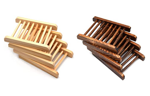 Bamboo Wood Soap Holders
