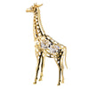 Giraffe with handcrafted Swarovski crystal element