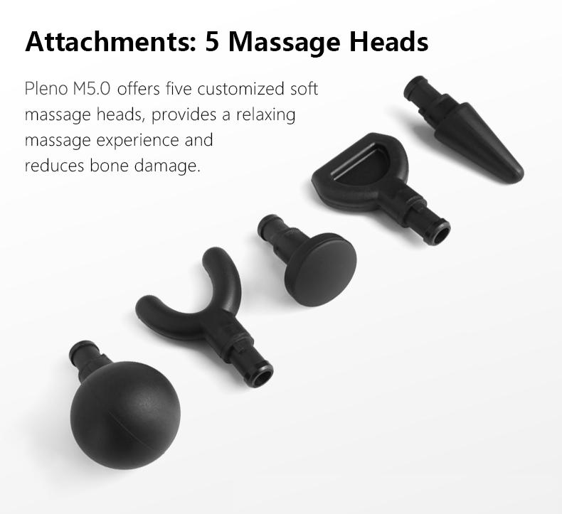 Pleno M5.0 Handheld Massager 30-day Money Back Guarantee
