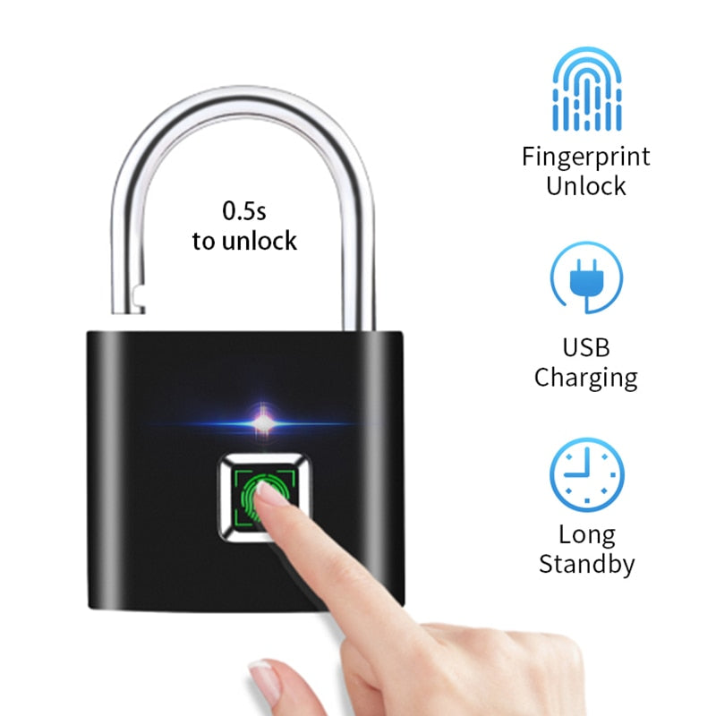 USB Fingerprint Lock