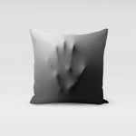 Hand Pressing Pillow Cover
