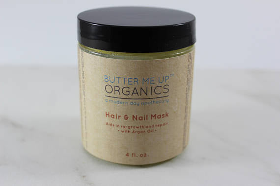 Organic Mask for Hair & Nail Growth