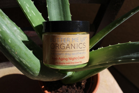 Organic Anti Aging Night Cream