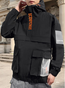 Windbreaker Jacket (Transparent pocket)