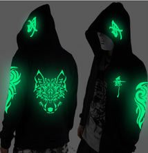 Load image into Gallery viewer, COMPAKT Luminous Streetwear Jacket (Glow in the dark)