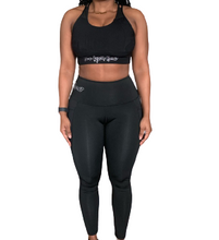 Load image into Gallery viewer, The Gym Bae Athletic Set Black