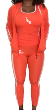 Load image into Gallery viewer, The Gym Bae 3 piece set (Orange)