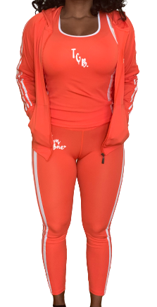 The Gym Bae 3 piece set (Orange)