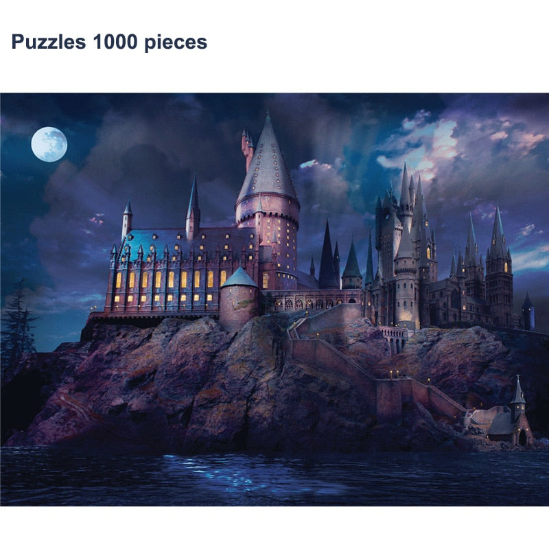 TOM BLUE™ - Harry Potter Zweinstein puzzel
