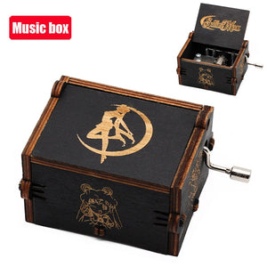 Wooden Caja |  Harry Potter Titelsong box