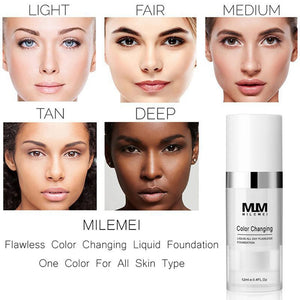 TOM BLUE™ X MLM - Color Changing Foundation