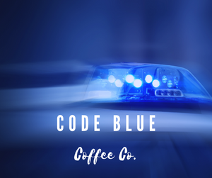 PTSD, Code Blue coffee, THin BLue Line, police, military