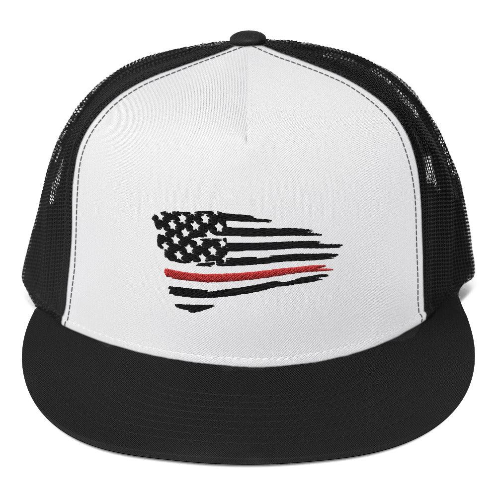 Thin Red Line Trucker Cap