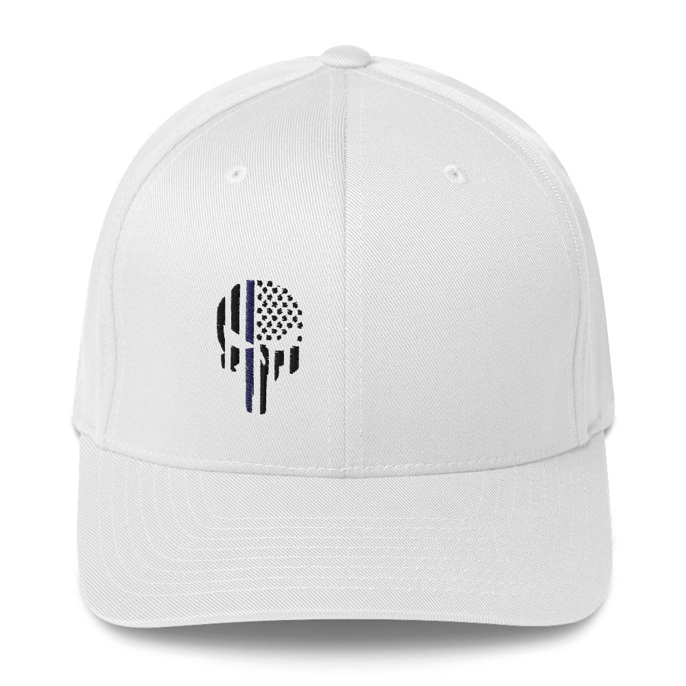 Thin Blue Line Punisher Twill Cap