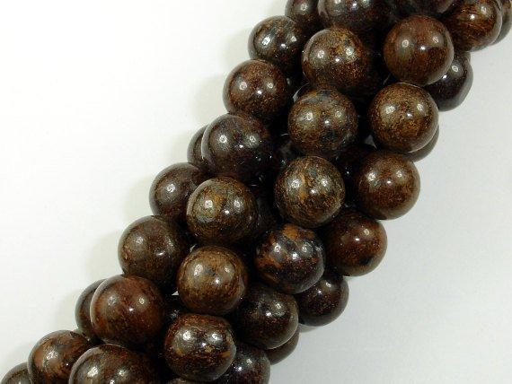 Bronzite Gemstone Bead Round 10mm-BeadBeyond