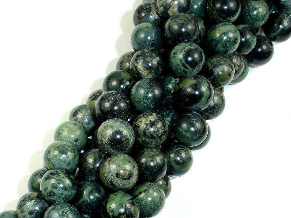 Kambaba Jasper Beads, Round, 10mm-BeadBeyond
