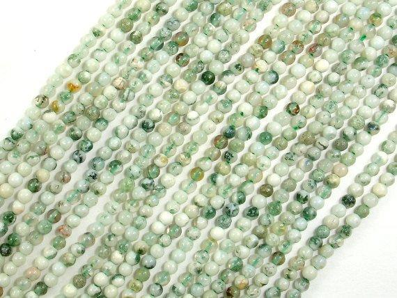 Tree Agate Beads, Round, 2mm-BeadBeyond