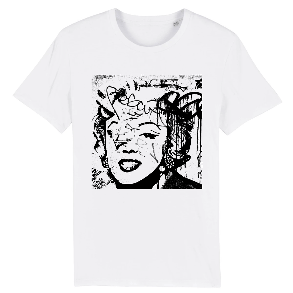 T-shirt <br> Marilyn is everywhere | Planet is your mother