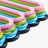 0587 5 in 1 Multipurpose Plastic Hanger, Assorted (5-Layer)