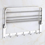0314 Bathroom Accessories Stainless Steel Folding Towel Rack