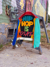 "Load image into Gallery viewer, Splashed ""Hip Hop is Dead"" Jacket"