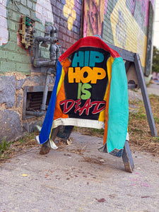 "Splashed ""Hip Hop is Dead"" Jacket"
