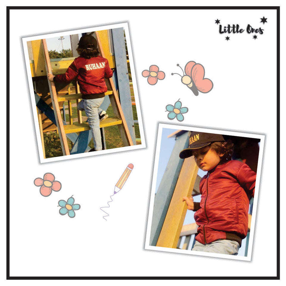 Kids Name Jacket & Cap Bundle (1)