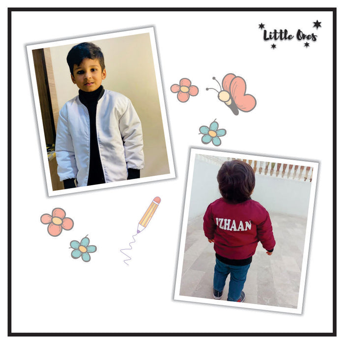 Kids Name Bomber Jacket (11)