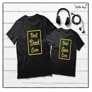 Best Son & Dad Bundle Tshirts Pack