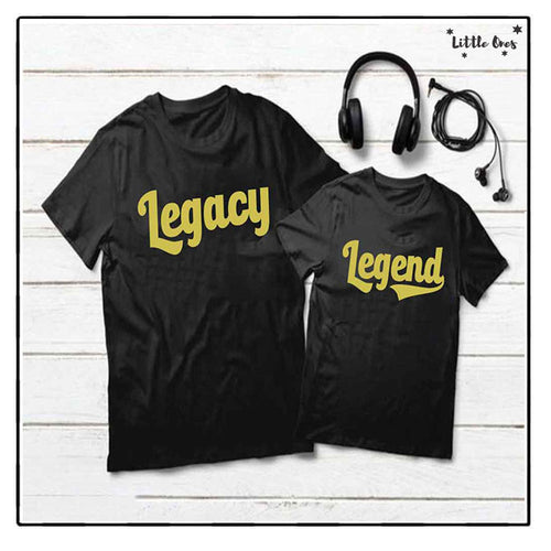 Legacy & Legend Bundle Tshirts Pack