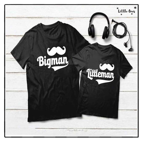 Bigman Littleman Bundle Tshirts Pack