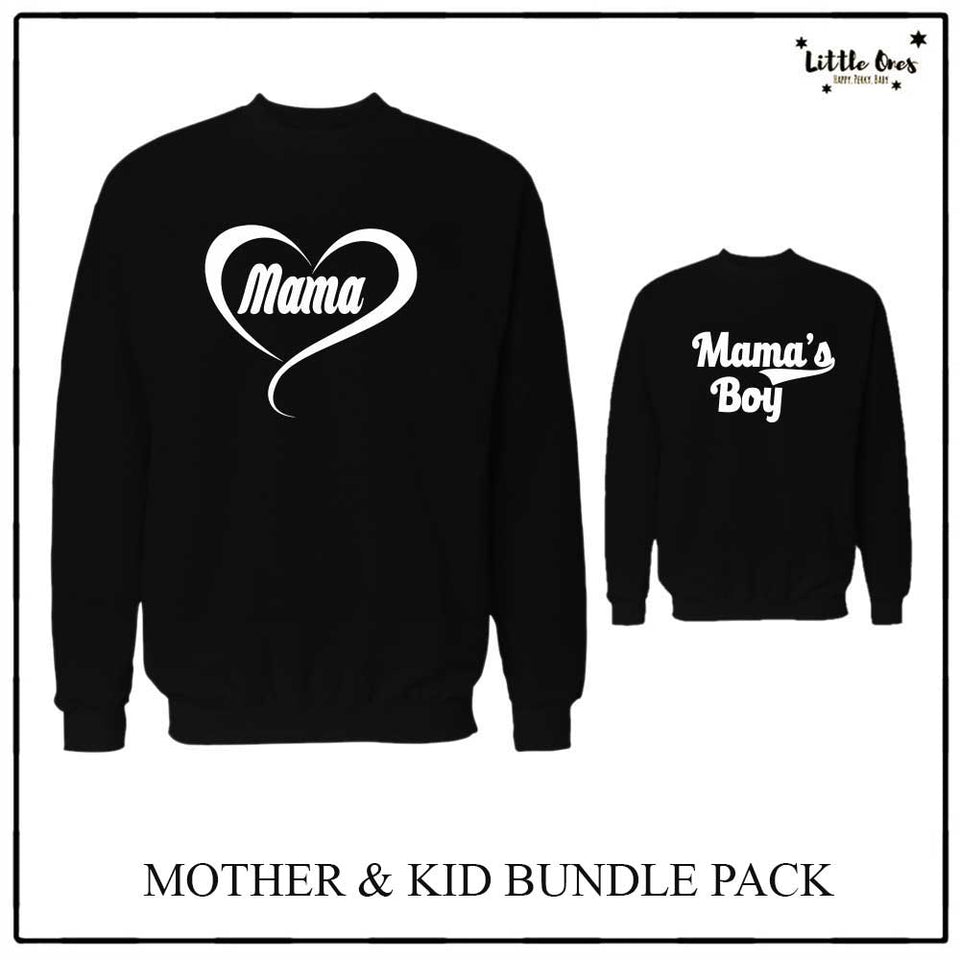 Mama's Boy Sweatshirts bundle pack