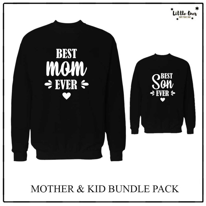 Best Mom & Son Sweatshirts bundle pack