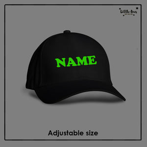 Glow in the Dark Name Cap