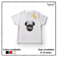 Kids Mickey Name Tshirt