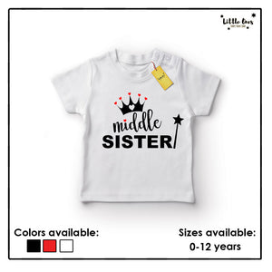 Middle Sister Tshirt