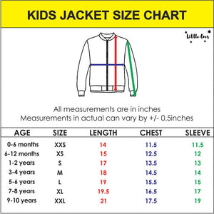 Little Doll Kids Bomber Jacket