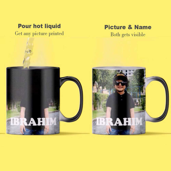 Kids Name & Picture Magic Mug