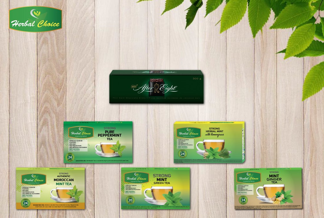 Limited Edition Mint Tea Selection-Crownherbalproducts