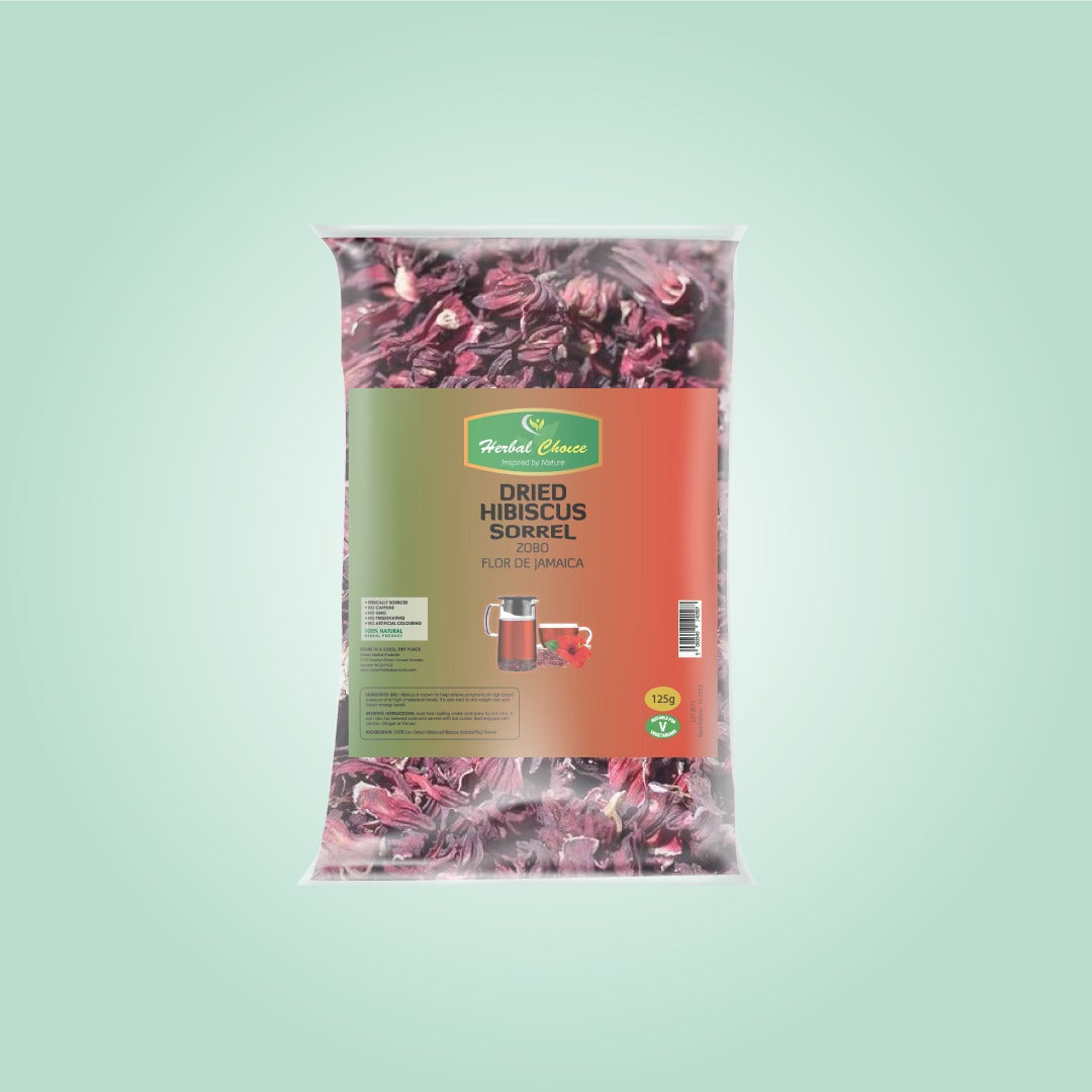 Dried Crushed Hibiscus Flower-Crownherbalproducts