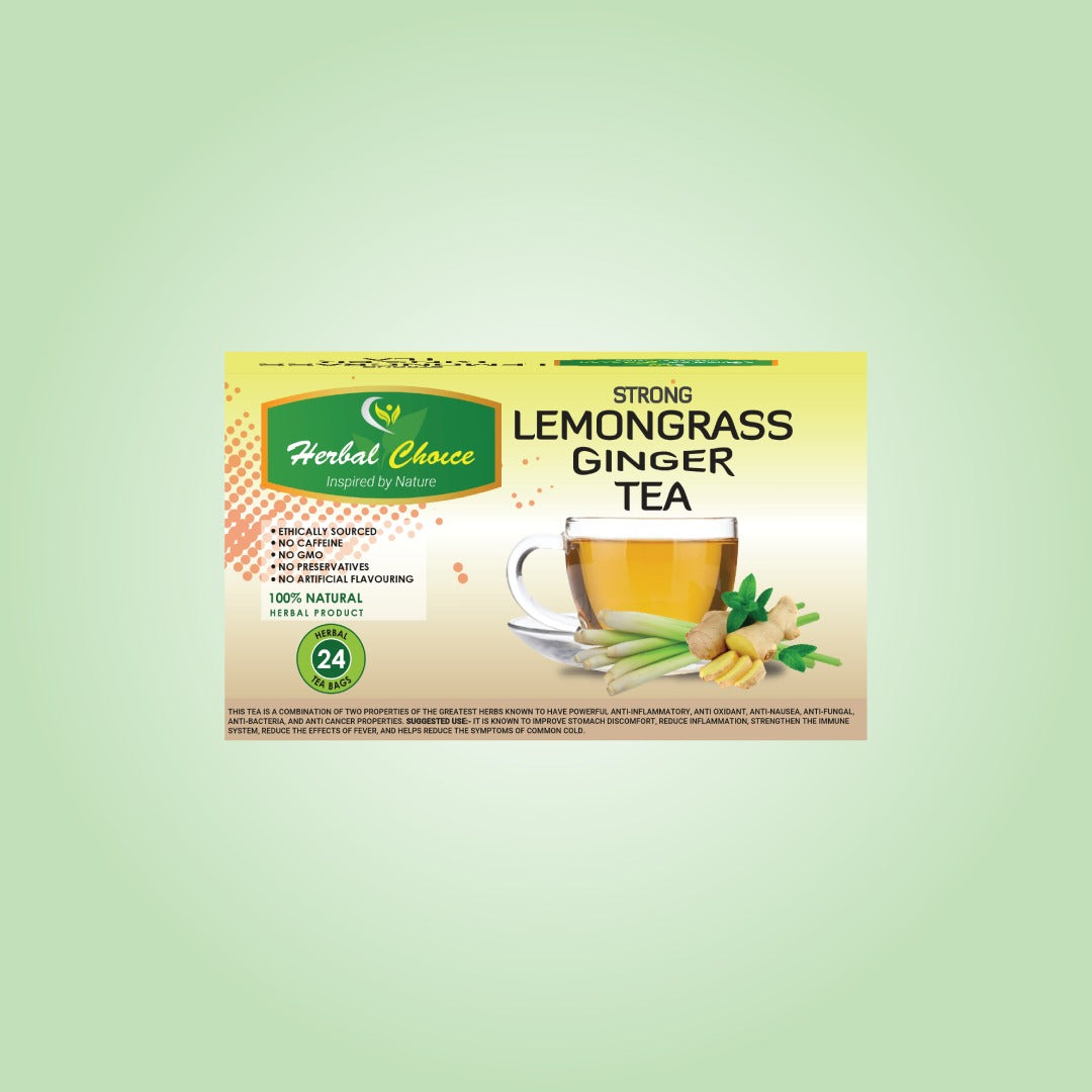Strong Lemongrass Ginger Tea-Crownherbalproducts