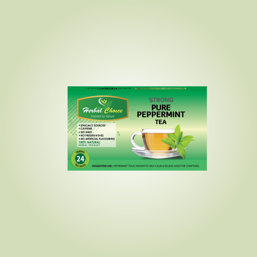 Strong Pure Peppermint Tea-Tea-Crownherbalproducts