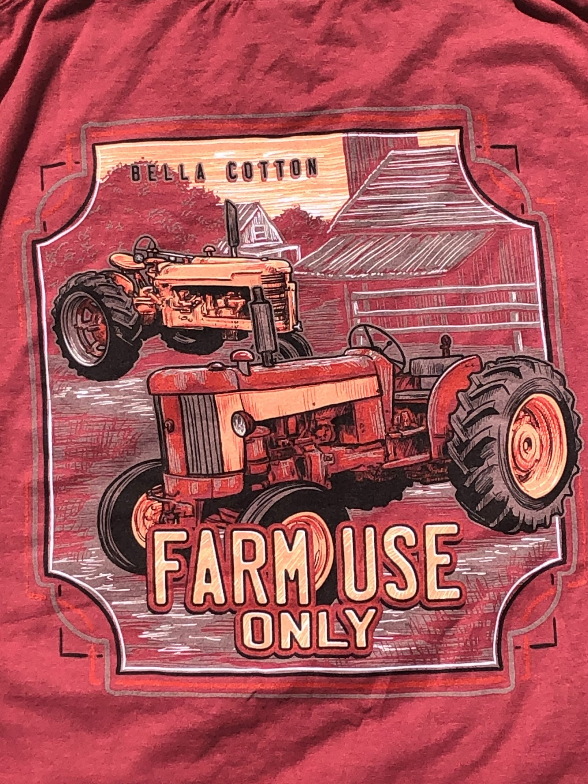 Comfort Wash Long Sleeve Farm Use Only No Pocket