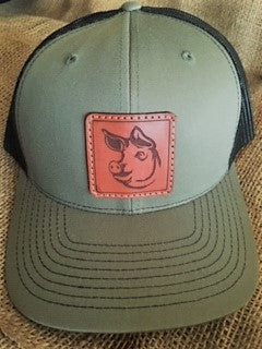Richardson 112 Leather Pig Hat