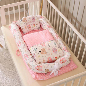 Baby Nest with Quilt & Pillow