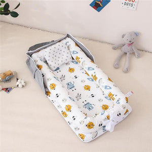 Portable Baby Nest with Pillow